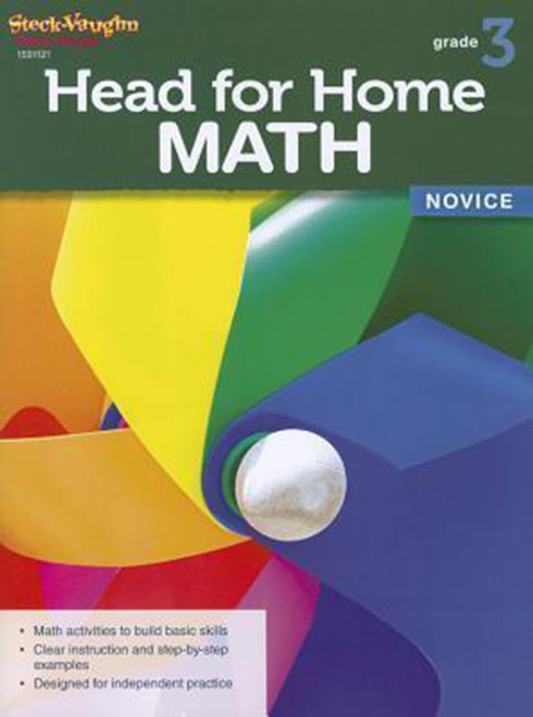 Head for Home Math Novice Workbook Grade 3