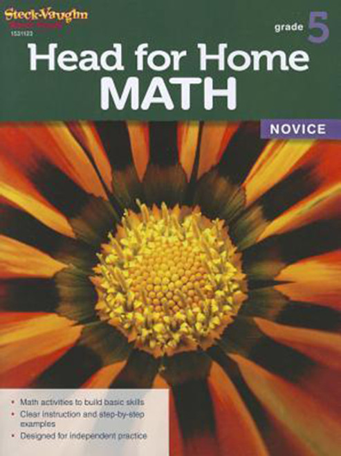 Head for Home Math Novice Workbook Grade 5