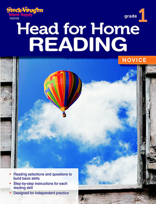Head for Home Reading Novice Workbook Grade 1