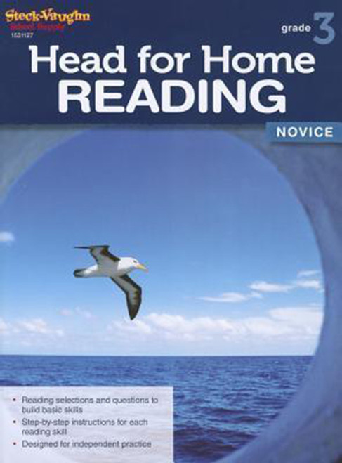 Head for Home Reading Novice Workbook Grade 3