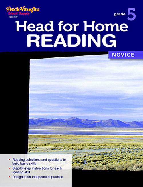 Head for Home Reading Novice Workbook Grade 5