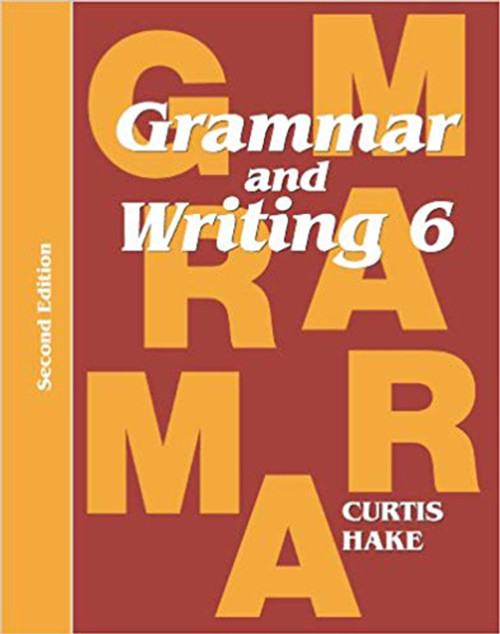 Grammar & Writing Student Textbook Grade 6 2nd Edition 2014