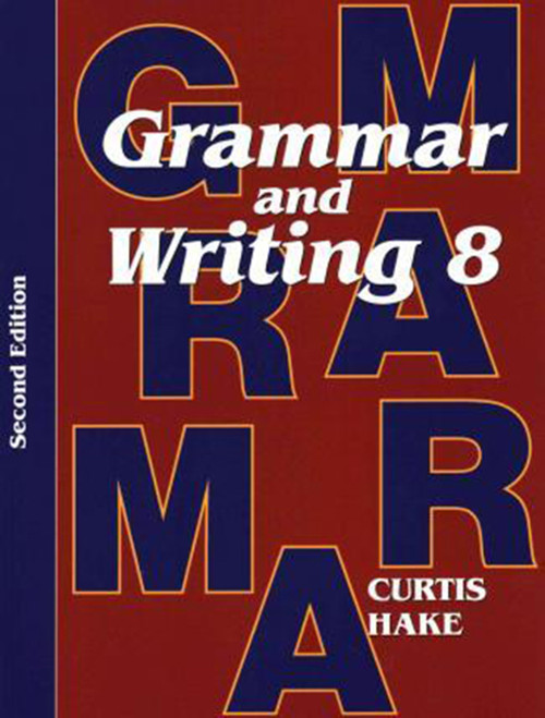 Saxon Grammar & Writing Homeschool Kit Grade 8 2nd Edition
