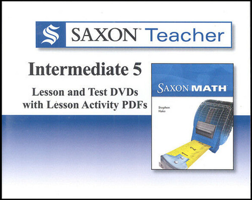 Saxon Homeschool Intermediate 5 Teacher DVD