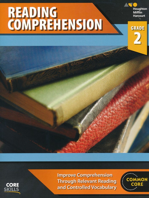 Steck-Vaughn Core Skills Reading Comprehension Workbook Grade 2