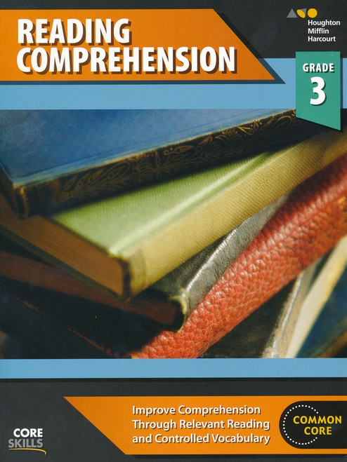 Steck-Vaughn Core Skills Reading Comprehension Workbook Grade 3