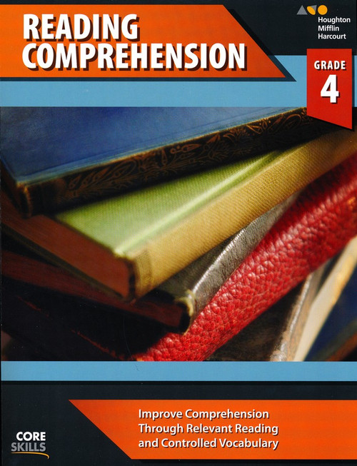 Steck-Vaughn Core Skills Reading Comprehension Workbook Grade 4