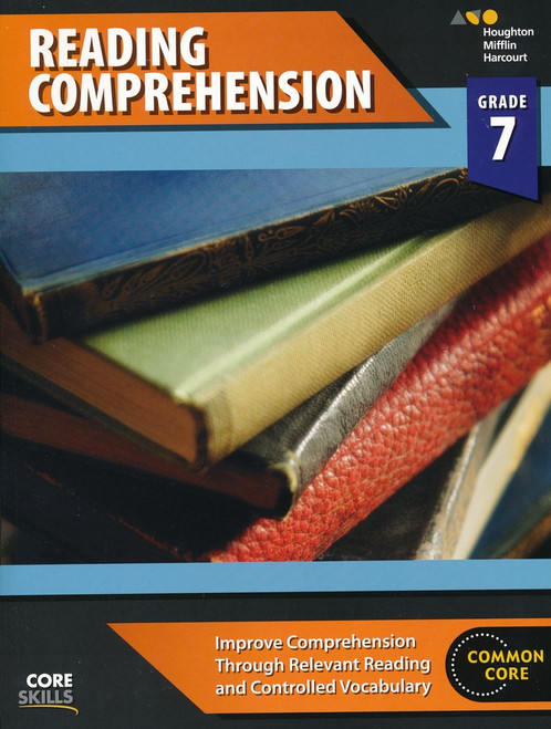 Steck-Vaughn Core Skills Reading Comprehension Workbook Grade 7