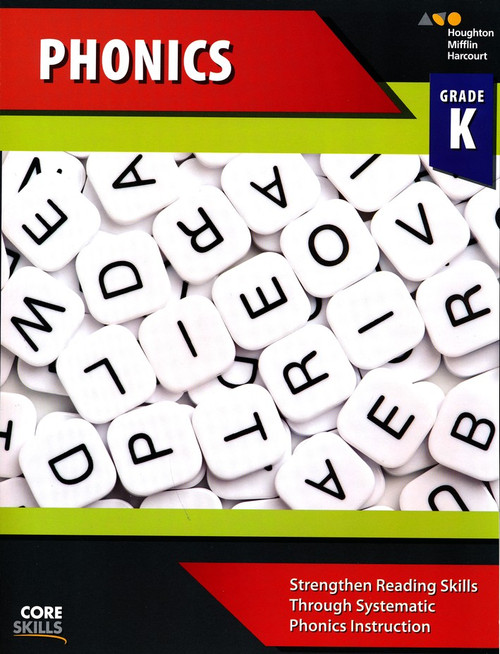 Steck-Vaughn Core Skills Phonics Workbook Grade K