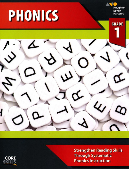 Steck-Vaughn Core Skills Phonics Workbook Grade 1