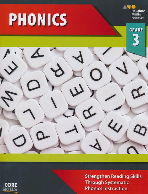 Steck-Vaughn Core Skills Phonics Workbook Grade 3