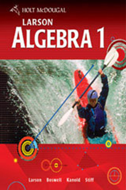 Holt McDougal Larson Algebra 1 Worked-Out Solutions Key