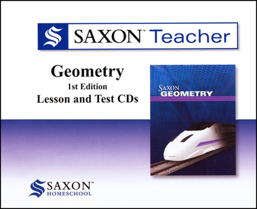 Saxon Geometry Teacher Video CD-ROM Set