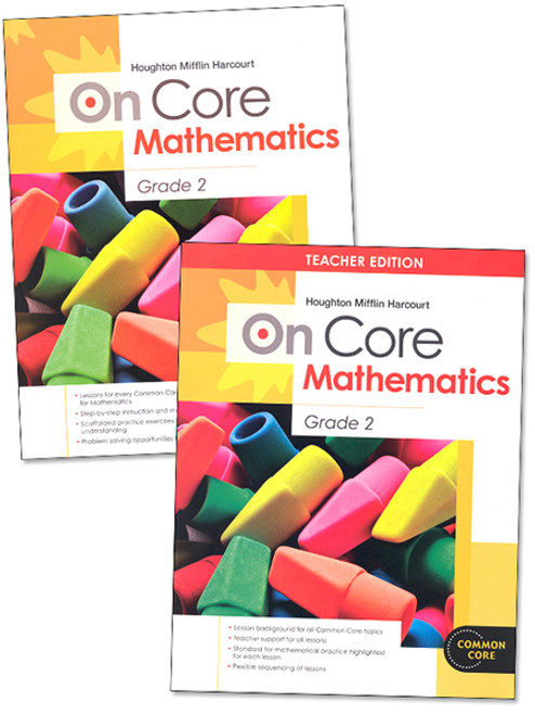 On Core Math Teacher and Student Bundle Grade 2