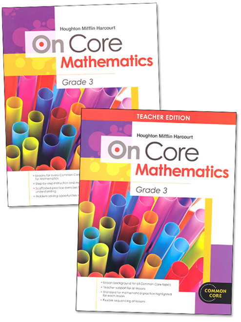 On Core Math Teacher and Student Bundle Grade 3