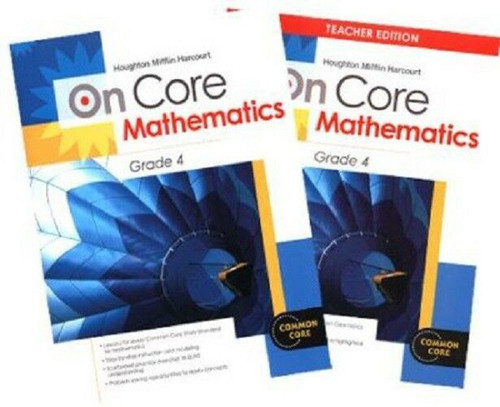 On Core Math Teacher and Student Bundle Grade 4