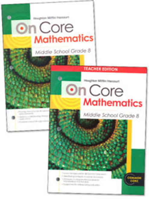 On Core Math Teacher and Student Bundle Grade 8