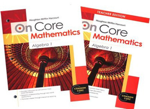 On Core Algebra 1 Teacher Student Bundle