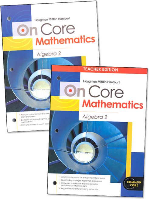 On Core Algebra 2 Teacher Student Bundle