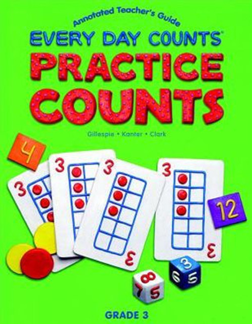 Great Source Every Day Counts: Practice Counts Workbook Grade 3 Second Edition