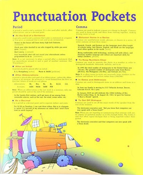 Write Source Punctuation Pocket Folder 6th-8th Grades
