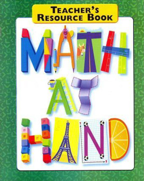 Math At Hand Teacher Resource Book