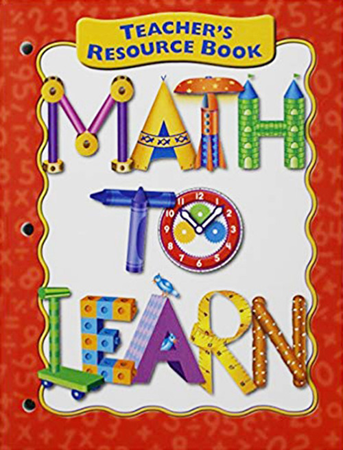 Math To Learn Teacher Resource Book
