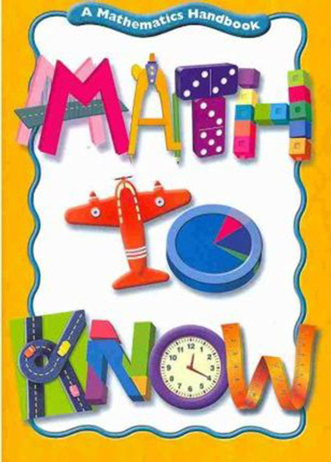 Math to Know Parent Guide