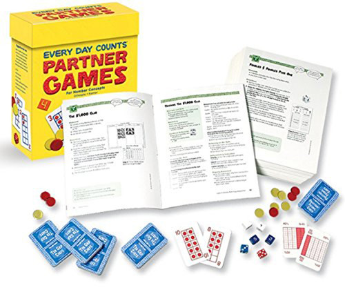 Great Source Every Day Counts Partner Games Class Pack Kindergarten