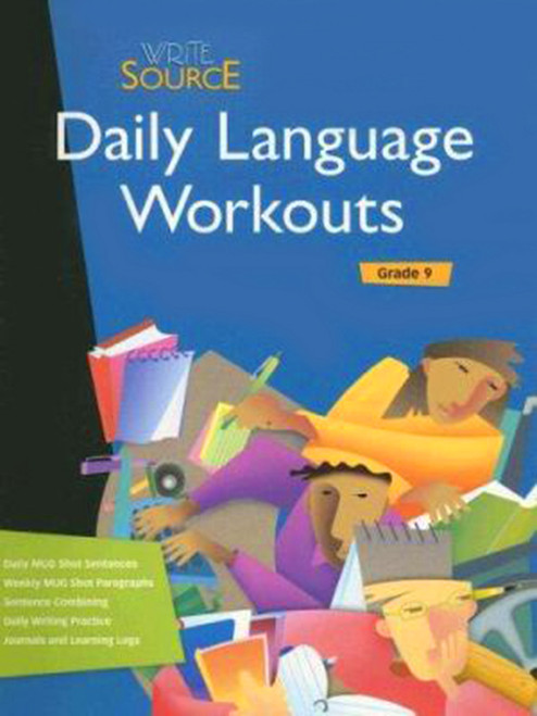 Write Source Daily Language Workout 9th Grade