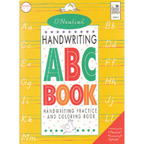 DNealian Handwriting Manuscript ABC Book