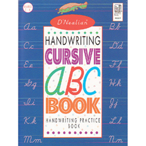 DNealian Handwriting Cursive ABC Book