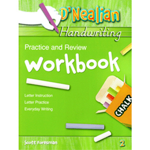DNealian Do It Yourself Practice Book 2nd Grade