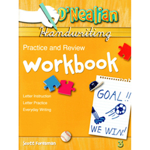 DNealian Do It Yourself Practice Book 3rd Grade