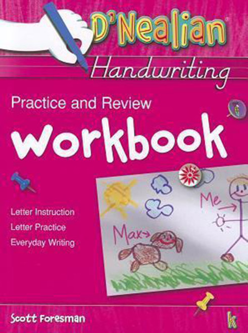 DNealian Do It Yourself Practice Book Kindergarten