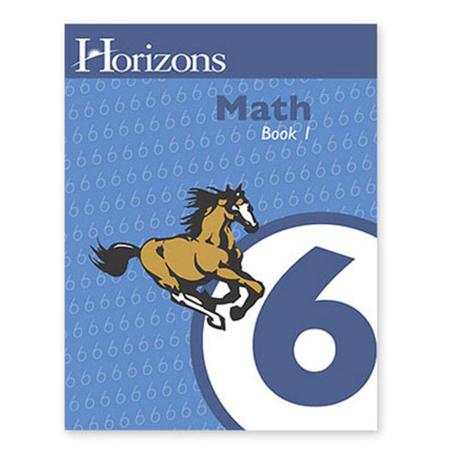 Horizons Math 6th Grade Student Book 1