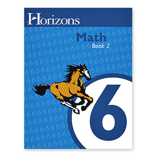 Horizons Math 6th Grade Student Book 2