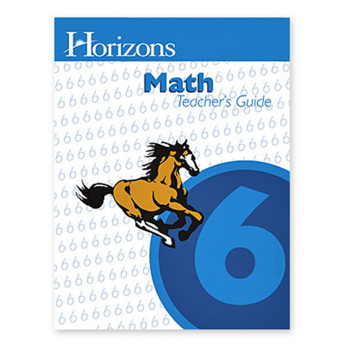 Horizons Math 6th Grade Teachers Guide