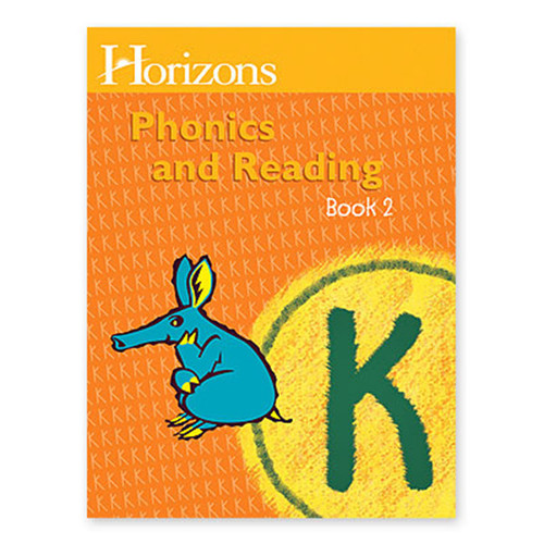 Horizons Phonics and Reading Student Book 2 Kindergarten