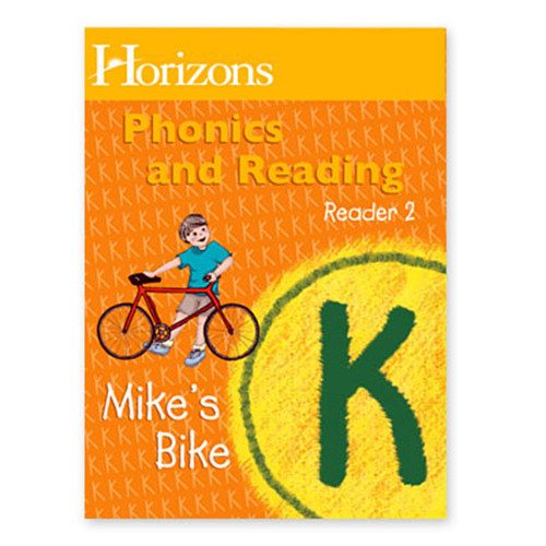 Horizons Phonics & Reading Student Reader 2, Mike's Bike,  Kindergarten