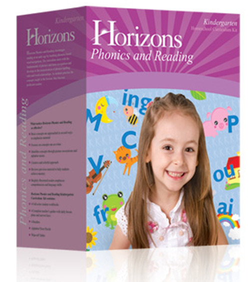 Horizons Phonics and Reading Homeschool Curriculum Set Kindergarten