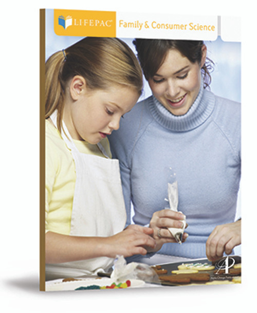 LIFEPAC Family and Consumer Science Homeschool Curriculum Set