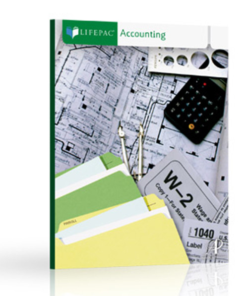 LIFEPAC Accounting Complete Homeschool Curriculum Set