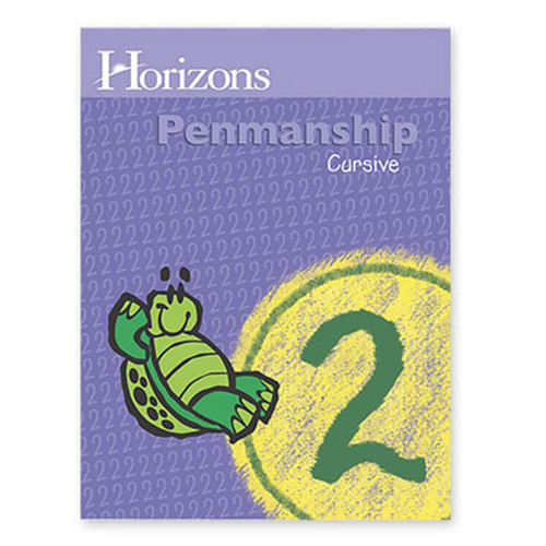 Horizons Penmanship Workbook 2nd Grade
