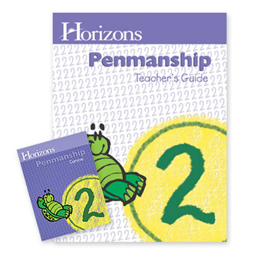Horizons Penmanship Homeschool Curriculum Set 2nd Grade