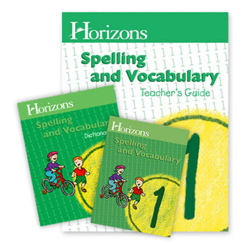 Horizons Spelling and Vocabulary Homeschool Curriculum Set 1st Grade