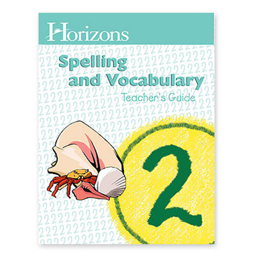Horizons Spelling Teacher Book 2nd Grade
