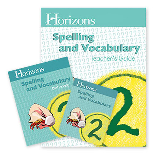 Horizons Spelling and Vocabulary Homeschool Curriculum Set 2nd Grade