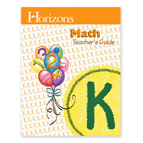 Horizons Math Teachers Handbook Kindergarten