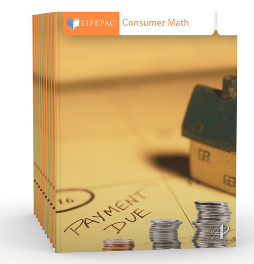 LIFEPAC Consumer Math Student Books